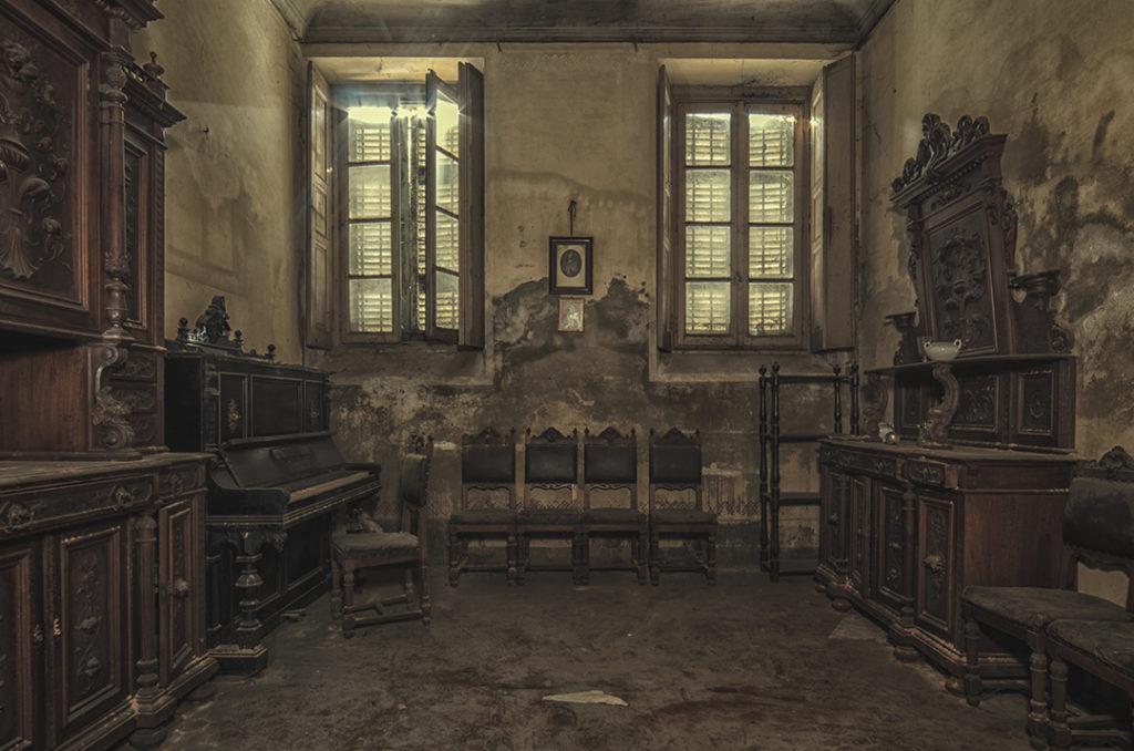 Un incantevole palazzo nobiliare abbandonato