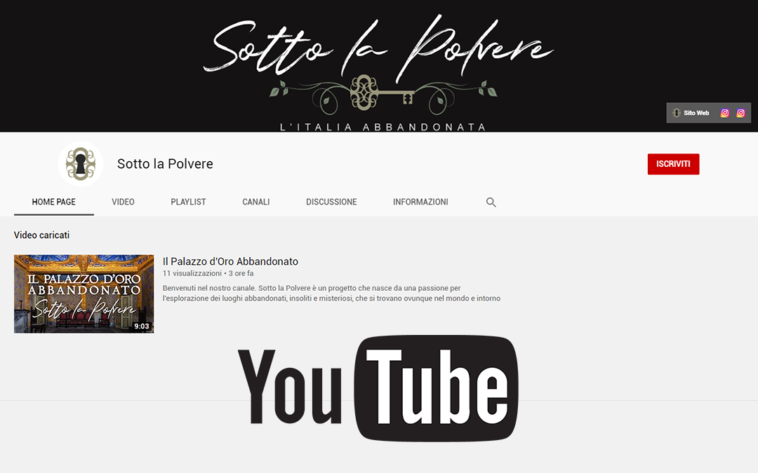 Seguici anche su YouTube!