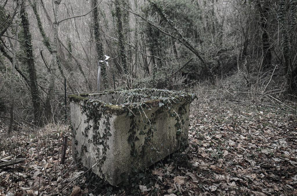 Una colonia abbandonata sulla montagna