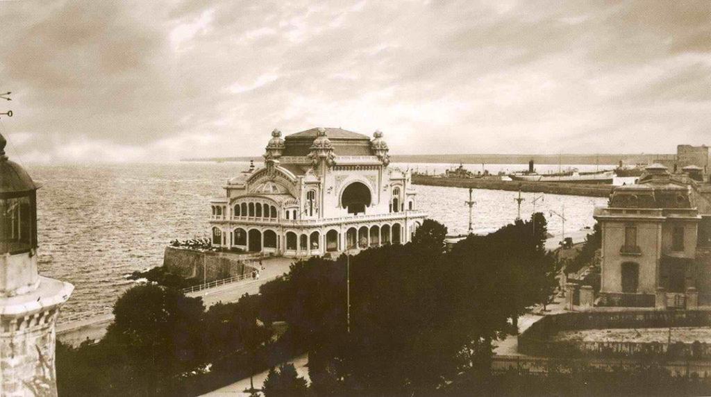 Foto d'epoca del Casinò di Costanza